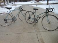 Schwinn World Sport men's and women's 10 speed vintage