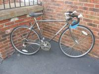 This Schwinn has been tuned up and has brand new tires,