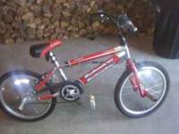 Hi im selling a red Schwinn Z-Force BMX bike. Its been