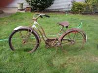 i have an old schwinn made in the 20s. And an old