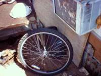 I have a machined alloy front wheel for a Schwinn for
