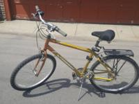 This bike is in great shape. It is used, with less than