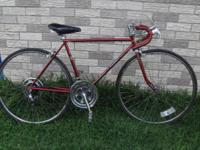 I'm selling this vintage Schwinn road bicycle for $145.