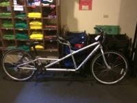 We have a Schwinn Tandem bike available in good