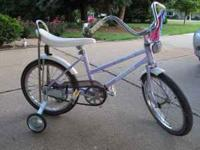 "Schwinn 18"" Starlet, from the 1980's ? $35 Barbie 16"","