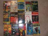 I have around 100 science fiction paperbacks I am