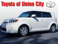 This white 2013 Scion xB is a keeper. It has a 2.40