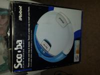 Scooba Floor Washer$125 OBOStull in box. Needs battery