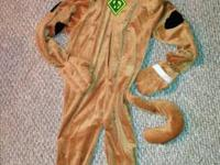 Scooby Doo- Full body costume- Size Medium. Thick,