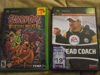 Scooby- Doo and Head Coach for the x-box. Both in Prime