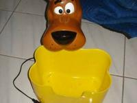 Scooby Doo Popcorn Machine  It does work. but