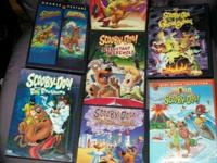 This is a bunch of 7 outstanding Scooby-Doo complete