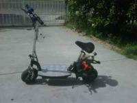 gas scooter with echo 2 cycle engine runs 130.00  text