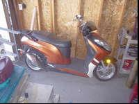 i have a scooter for sale or trade i am asking 650.oo