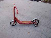 Radio Flyer scooter in new condition asking $35