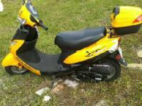 almost brand new, 50cc scooter. one owner, bought new