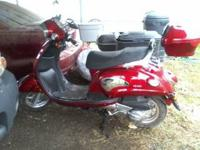 2007 Lance Scooter for sale: 150 cc, 550 miles on