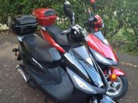 I have 2, 2012 Kaitong 50cc Scooters for sale, one red