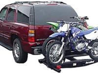 Double Motorcycle/Moped/Scooter Carrier with Ramp