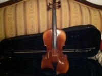 Scott Cao 4/4 student violin. Normal wear consistent