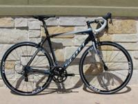 Available for sale is a 54cm. Scott CR 1 Elite in