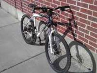 I am selling a used Scott mountain bike. All components