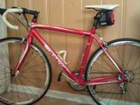 I am selling my Scott s50 road bike its like new I have
