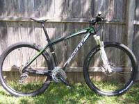 This is a 2010 Scott Scale 29er. Approxamitely 200