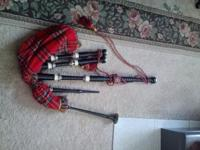 Scottish Bagpipes For Sale From Scotland- Like New!