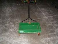 Up for sale is my Scotts Drop Fertilizer spreader. It