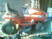 Scotts lawn tractor made by John Deer..15 hp just needs