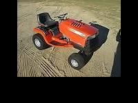 This is a Scotts tractor built by Jonh Deere, it looks