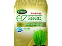 The Scotts Turf Builder 10 lb. EZ Seed is designed for