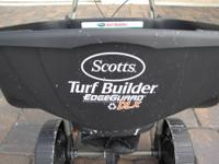 This is my Scotts Turf Builder DLX Broadcast Spreader