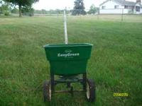 scotts fertelizer and seed spreader ... see the