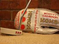 Up for sale is a MINT condition Scotty Cameron Kombi