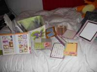 full box with scrapbooking stuff for only $35!! filled