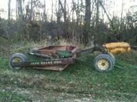 John Deere scraper excellent cond no welds  Location:
