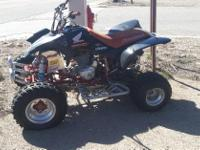 Make: Honda Model: Other Condition: Used This 4 wheeler