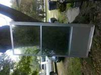 Metal storm screen door New screen please call