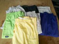 Scrub pants size medium 7 pair for $10.00. Call or txt
