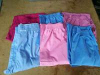 Size Small scrub pants. 6 pair for $10.00. Call or txt