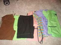 I have a lot of size small srub sets for sale they are