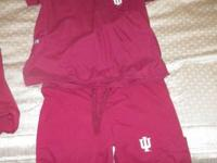 I have 2 pairs of crimson scrubs with the IU logo on