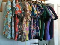 Scrub tops and bottoms: $4 each or will certainly
