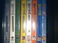 Excellent condition $50 obo  for all 8 seasons