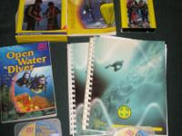 Assorted dive books and DVD's. Originally purchased at