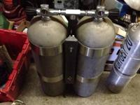 I have two sets of dual aluminum 3000 pound scuba