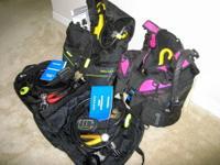 Seaquest Diva QD, W-sm-pink BC; US Divers Cousteau RDS