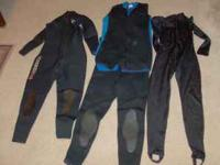 Selling our complete sets of scuba gear we are asking